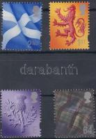 Skócia 1999 Forgalmi sor Mi 77-80
