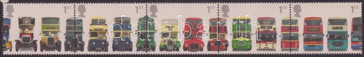 2001 Emeletes buszok ötöscsík Mi 1933-1937
