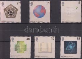 2001 100 éves a Nobel-díj sor Mi 1954-1959