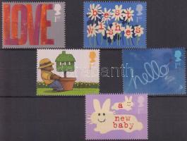 2002 Üdvözlő bélyegek sor Mi 1988-1992