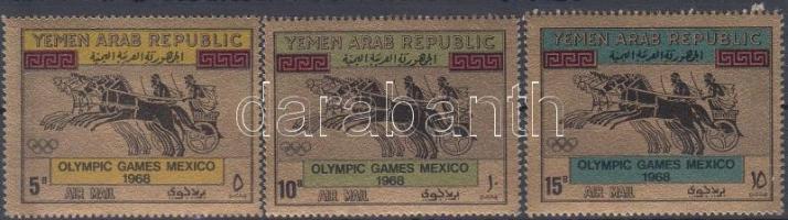1968 Nyári Olimpia, Mexikó sor Mi 742-744