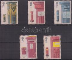 2002 Postaládák sor Mi 2053-2057