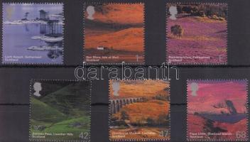 2003 Brit tájképek sor Mi 2140-2145