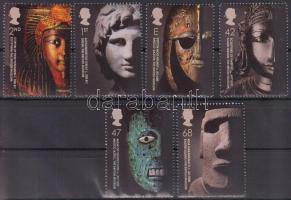 2003 250 éves a British Múzeum sor Mi 2158-2163