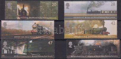 2004 A vasút története sor Mi 2174-2179