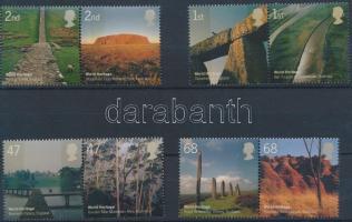2005 UNESCO: Természet sor párokban Mi 2300-2307
