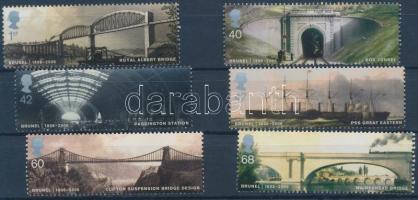 2006 Isambard Kingdom Brunel sor Mi 2385-2390