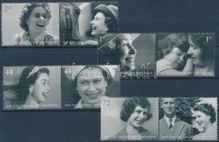 2006 II. Erzsébet 80. születésnapja 4 pár Mi 2400-2407