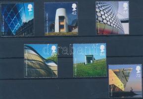2006 Modern építészet sor Mi 2414-2419