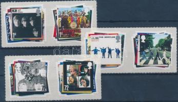 2007 The Beatles öntapadós sor párokban Mi 2474-2479