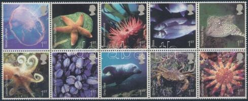 2007 Tengeri állatok tízestömb Mi 2480-2489
