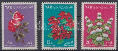 1964 Virág portó sor Mi 17-19
