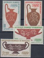 1964 Tokiói olimpia sor Mi 232-235