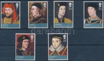 2008 Lancaster és York házi uralkodók sor Mi 2612-2617