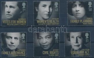 2008 Híres nők sor Mi 2674-2679