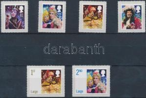2008 Pantomim öntapadós sor Mi 2686-2691