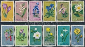 1962 Virágok sor Mi 543-550