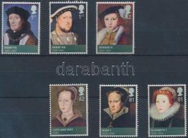 2009 Tudor házi uralkodók sor Mi 2750-2755