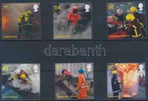 2009 Tűzoltó és mentőszolgálat sor Mi 2791-2796