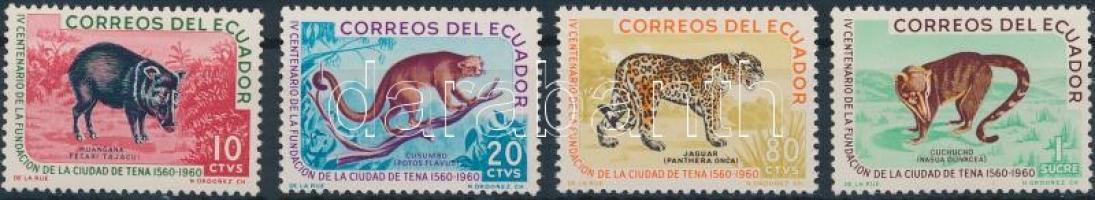 1961 Állatok sor Mi 1066-1069