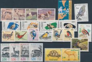 Animals 24 diff. stamps, Állat motívum 24 klf bélyeg