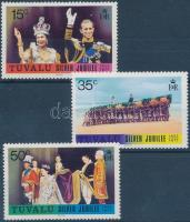 25th reign anniversary of Queen Elizabeth II set, II. Erzsébet királynő uralkodásának 25. évfordulója sor