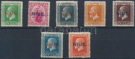 1917 Forgalmi értékek Mi 16-21, 24