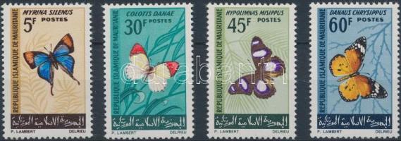 1966 Pillangók sor Mi 290-293