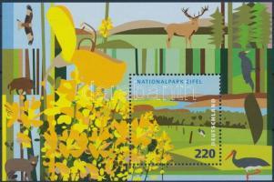 2009 Eifel Nemzeti Park blokk Mi 74