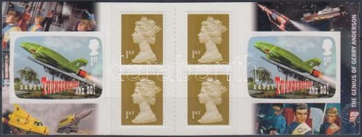2011 Science fiction öntapadós bélyegfüzet MH 0-329 (Mi 3040)