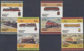 Locomotives (I) 4 pairs Mozdonyok (I) 4 pár
