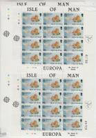 1981 Europa CEPT Folklór kisív sor Mi 187-188