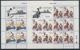 1981 Europa CEPT Folklór kisív sor Mi 628-629