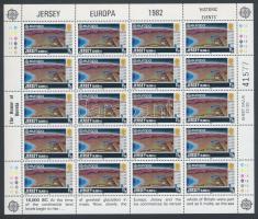 1982 Europa CEPT Történelmi események kisív sor Mi 278-281