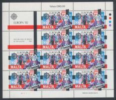 1982 Europa CEPT Történelmi események kisív sor Mi 661-662