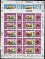 1983 Europa CEPT Jelentős alkotások kisív sor Mi 299-302