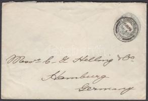 1904 Díjjegyes boríték Hamburgba