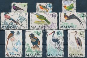 1968 Madarak 10 érték Mi 92, 94, 96, 98-104