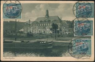 1922 TCV képeslap Párizsba / TCV postcard to Paris