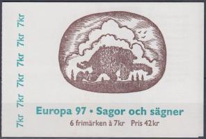 Europa CEPT myths and legends stamp booklet, Europa CEPT mondák és legendák bélyegfüzet