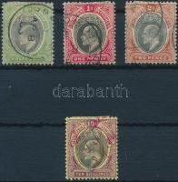 Dél-Nigéria 1903 Forgalmi Mi 10-12, 14