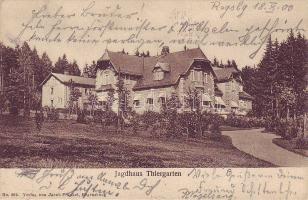 Thiergarten, Jagdhaus / Hunting cabin