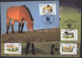 2000 WWF Lovak sor Mi 3122-3125 4 CM