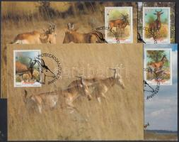 1991 WWF antilop sor Mi 1231-1234 4 CM