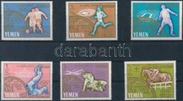 1965 Olimpia sor Mi 196-201A