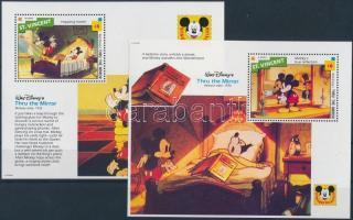 1992 Walt Disney kisív Mi 2242-2252 + blokk 251, 252