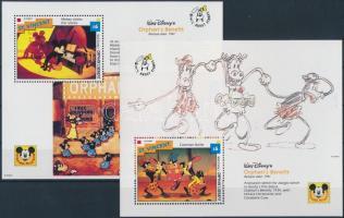 1992 Walt Disney kisív Mi 2209-2219 + blokk 245, 246