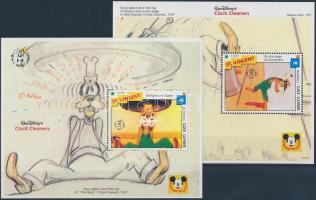 1992 Walt Disney kisív Mi 2231-2241 + blokk 249, 250
