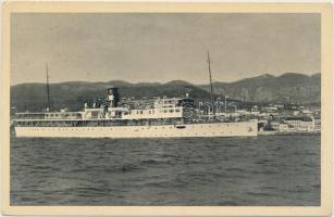 Crikvenica, steamship, Crikvenica, gőzhajó