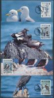 1989 WWF tengeri madarak sor Mi 408-411 4 CM